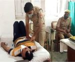 This UP cop using his medical degree to fight Covid