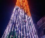 Free Photo: This year, Mumbai's famed Christmas tree celebrates R-Day too