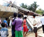 Two dead as under-construction bridge collapses in Bengal