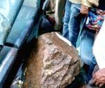 Three injured after rocks fall on Hubli Express