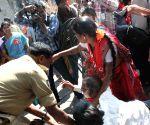 CPIM activist arrested at Hyderabad collectorate