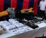 3 LeT men arrested in J&K, weapons sent by Pak drones recovered