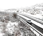 CHINA GANSU SNOWFALL