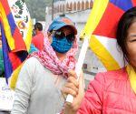 Tibetans rally - Climate Action for Tibet in the Paris UN COP21