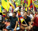 Demonstration to press for Independence of Tibet