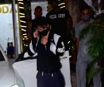 Tiger Shroff spotted Gym in Juhu
