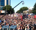 ALBANIA TIRANA PROTEST