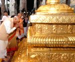 President Kovind offers prayers at Tirumala temple