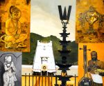 Painted ambience of temples for artist Sanjay Bhattacharya's upcoming show