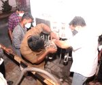 Free Photo: TN Finance Minister gets down to nuts & bolts of O2 tanker