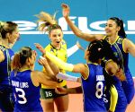 Brazil v/s China during FIVB Women's Volleyball World Grand Prix 2014