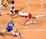 Belgium v/s Russia during FIVB Women's Volleyball World Grand Prix 2014