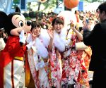 (WORLD SECTION) JAPAN TOKYO COMING OF AGE DAY CELEBRATION