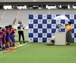 JAPAN TOKYO OLYMPIC MASCOT ROBOTS