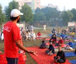 Away from limelight, a Muslim spreads yoga in Pakistan (With Image)