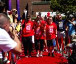 US-LOS ANGELES-SPECIAL OLYMPIC-TORCH RELAY