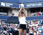 CANADA TORONTO TENNIS ROGERS CUP WOMEN'S SINGLES FINAL