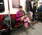 CANADA-TORONTO-NO PANTS SUBWAY RIDE