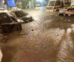 Torrential rains paralyse Mumbai