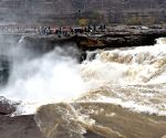CHINA SHANXI JIXIAN HUKOU WATERFALL