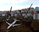 TURKEY TRABZON AIRPLANE ACCIDENT