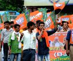 BJP affiliated Trade Union rally