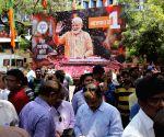 Sensex zooms past 40k-mark as NDA leads vote count