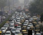 Traffic goes for a toss as farmers choke roads in Delhi