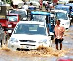 Flooded roads of Guwahati