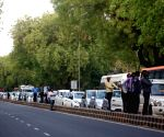Traffic stalled due to VVIP movement