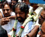 Sudip Banerjee files nominations