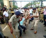 TMCP demonstration to demand justice for Anwara Choudhury