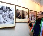 Prasun Banerjee at a photo exhibition