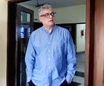 Derek O'Brien arrives to appear before CBI in Saradha case