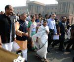 Mamata Banerjee, Omar Abdullah, Bhagwant Mann march to Rashtrapati Bhavan over demonetisation