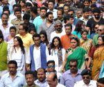TMC demonstration against demonetisation