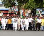 TMC's demonstration against fuel price hike