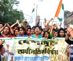 Trinamool Congress demonstration against demonetization