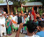 Free photo : Trinamool MP Sushmita Dev and others attacked in Tripura.