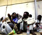 LIBYA TRIPOLI ILLEGAL MIGRANTS RESCUE