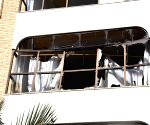 LIBYA TRIPOLI MOROCCO EMBASSY ATTACK
