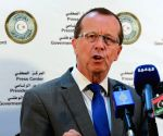 LIBYA TRIPOLI UN KOBLER PRESS CONFERENCE