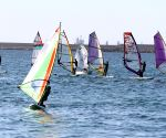 Tripoli Open sailing race in Libya