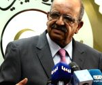 LIBYA TRIPOLI ALGERIA PRESS CONFERENCE