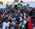 Protest against any foreign intervention in Libya