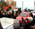 LIBYA TRIPOLI MILITARY PARADE