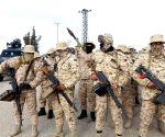LIBYA TRIPOLI CLASHES SECURITY FORCE PATROL