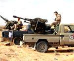 LIBYA WETIA AIRBASE CLASHES