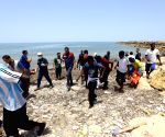 LIBYA TRIPOLI MIGRANTS CAPSIZED BOAT