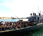 LIBYA TRIPOLI MIGRANTS RESCUE